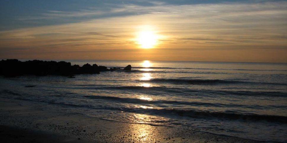 Sea & Sunset at Rhosneigr Beach